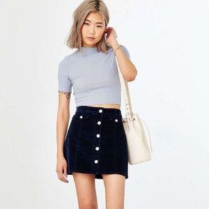 🆕 Urban Outfitters BDG Black 🖤 Corduroy Skirt